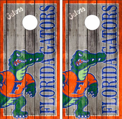 Florida Gators Version 2 Cornhole Wraps