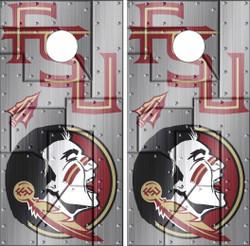 Florida State Version 3 Seminoles Cornhole Wraps