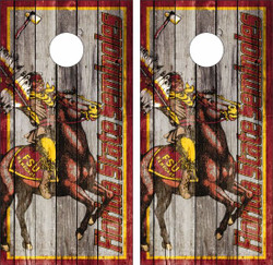 Florida State Version 6 Seminoles Cornhole Wraps