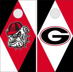 Georgia Bulldogs Version 2 Cornhole Wraps