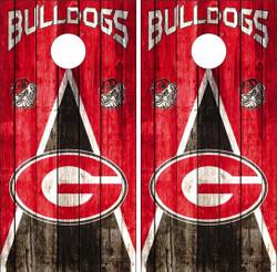 Georgia Bulldogs Version 3 Cornhole Wraps