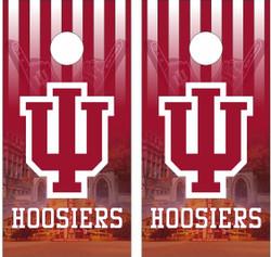 Indiana Hoosiers Version 2 Cornhole Wraps