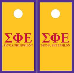 Sigma Phi Epsilon Cornhole Set with Bags