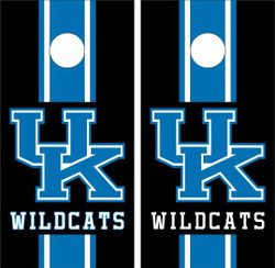 Kentucky Wildcats Version 2 Cornhole Wraps