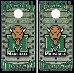 Marshall Thundering Herd Version 2 Cornhole Wraps