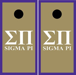 Sigma Pi Cornhole Set with Bags