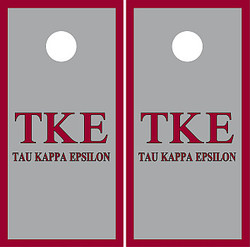 Tau Kappa Epsilon Cornhole Set with Bags