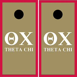 Theta Chi Cornhole Set with Bags