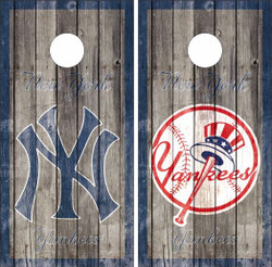 New York Yankees Version 2 Cornhole Wraps