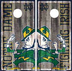 Notre Dame Fighting Irish Version 3 Cornhole Wraps