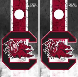South Carolina Gamecocks Version 3 Cornhole Wraps
