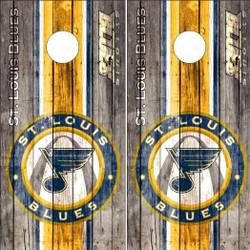 St. Louis Blues Cornhole Wraps