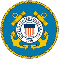 US Coast Guard Cornhole Decals