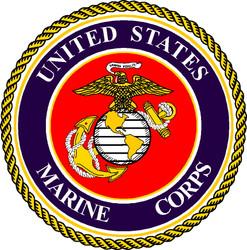 US Marine Corps Cornhole Decals