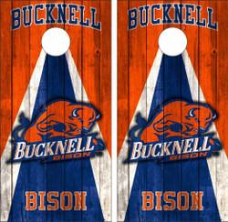 Bucknell Bison Cornhole Wraps