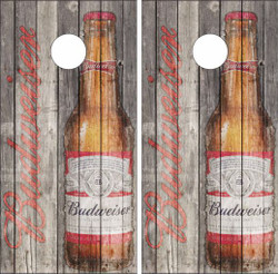 Budweiser Version 2 Cornhole Wraps