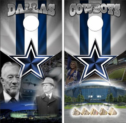 Dallas Cowboys Version 7 Cornhole Wraps
