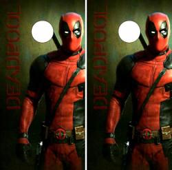 Deadpool Cornhole Wraps