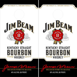 Jim Beam Version 3 Cornhole Wraps