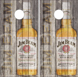 Jim Beam Version 4 Cornhole Wraps