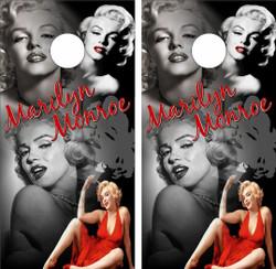 Marilyn Monroe Cornhole Wraps