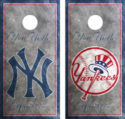 New York Yankees Version 4 Cornhole Wraps