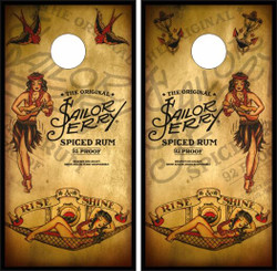 Sailor Jerry Cornhole Wraps