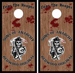 Sons of Anarchy Cornhole Wraps