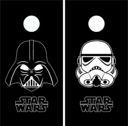 Star Wars Cornhole Wraps