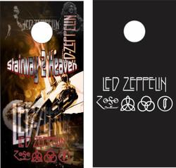 Led Zeppelin Cornhole Wraps