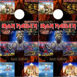 Iron Maiden Cornhole Wraps