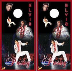 Elvis Presley Cornhole Wraps