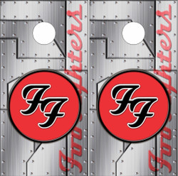 Foo Fighters Cornhole Wraps