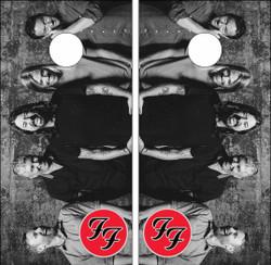 Foo Fighters Version 2 Cornhole Wraps