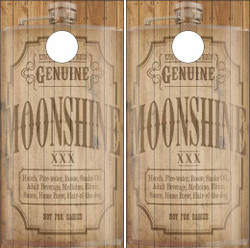 Moonshine Cornhole Wraps