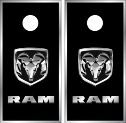 Dodge Ram Version 2 Cornhole Wraps
