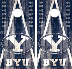 BYU Cougars Version 2 Cornhole Wraps