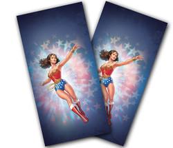 Wonder Woman Cornhole Wraps
