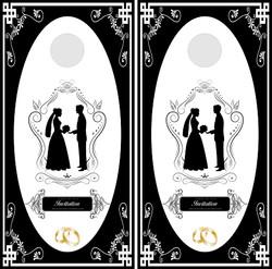 Wedding Cornhole Wraps #4