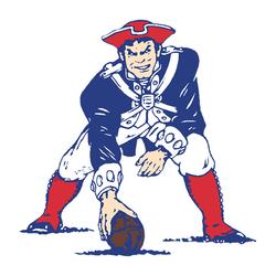 New England Patriots (1992) Cornhole Decal