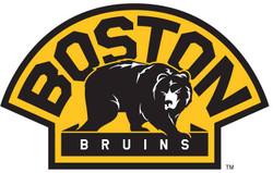 Boston Bruins (alternate) Cornhole Decal