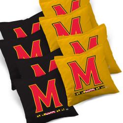 Maryland Terrapins Terrapins Cornhole Bags - Set of 8