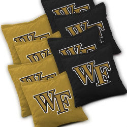 Wake Forest Demon Deacons Cornhole Bags - Set of 8