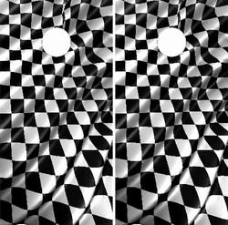Checkered Racing Flag Cornhole Wraps