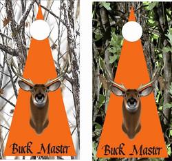 Buck Master Cornhole Wraps