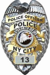 Police Cornhole Decals