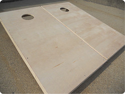 Plain (Raw) Cornhole Set with Bags