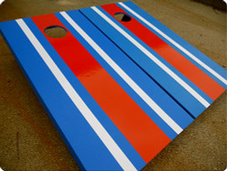 Striped Cornhole Set with Bags