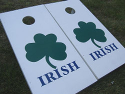 Irish Cornhole Set with Bags