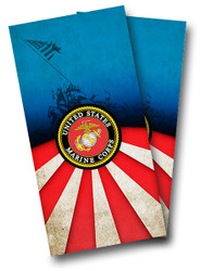 Marines Cornhole Wraps
